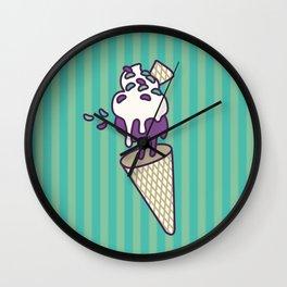Blackberry Antigravity Ice Cream Wall Clock