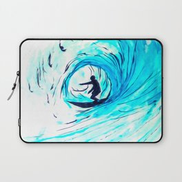 Solo - Surfing the big blue wave Laptop Sleeve