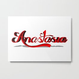 Anastasia Metal Print