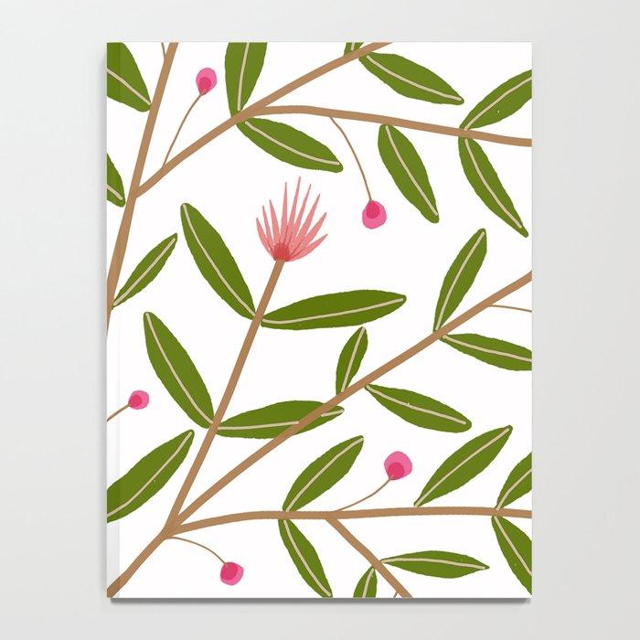 Mirah Floral - Pink Palette Notebook