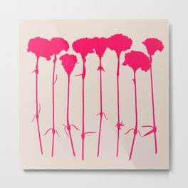carnations 2 Metal Print