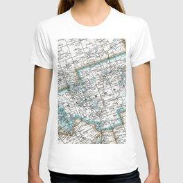 Map of Muskoka County, Ontario, Canada T-shirt