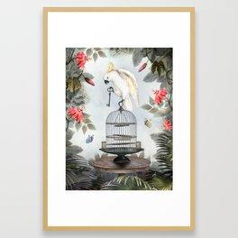 You Got The Key Framed Art Print