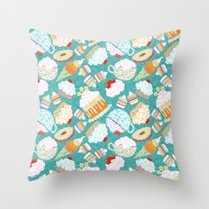 sweetly Throw Pillow