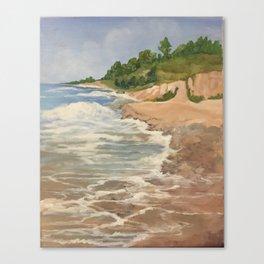 Lake Michigan Summer Canvas Print