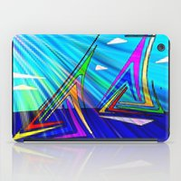 sail iPad Cases featuring SAIL. by capricorn