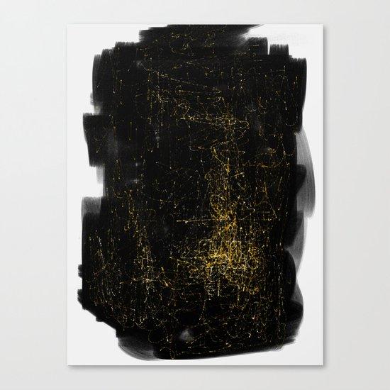 Entanglement of Stars Canvas Print