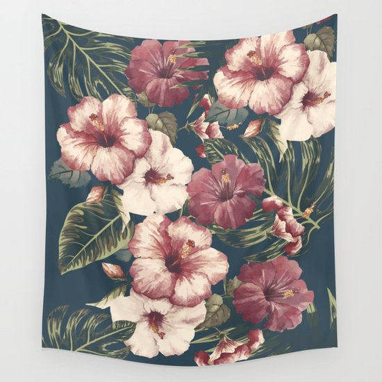 Flower pattern A Wall Tapestry