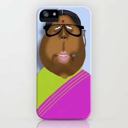 Mrs Curry iPhone Case