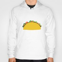 taco Hoodies featuring Taco  by Beautiful Artworks