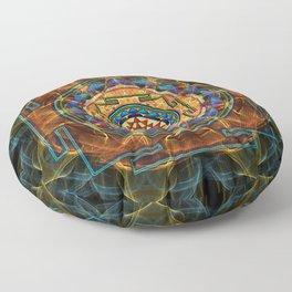 The Sri Yantra - Sacred Geometry Floor Pillow