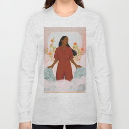 TIME'S UP by Louisa Cannell Long Sleeve T-shirt