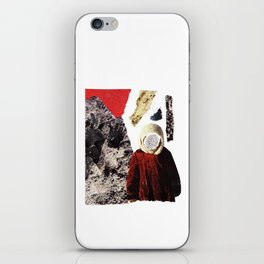 Red child iPhone Skin