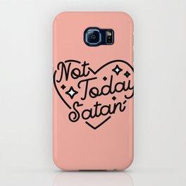 not today satan I iPhone Case