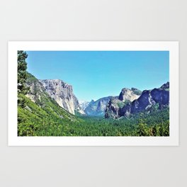 The Wonder of Yosemite Art Print