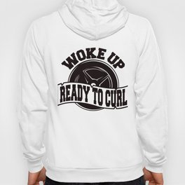 Woke Up Ready To Curl Weightlifter Fitness Gym Shirt FitXGrind Hoody