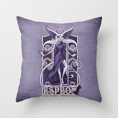 Rule 63: Espeon Throw Pillow