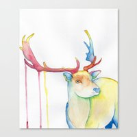 elk Canvas Prints featuring Elk by Eric Weiand