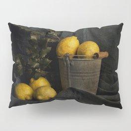 Cassic still life with lemons Pillow Sham