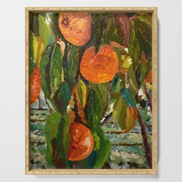 Jimmy and the Giant Peach Tree Serving Tray
