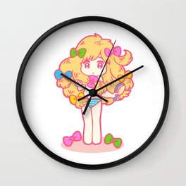 DressingUp Wall Clock