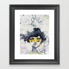 Ti conosco mascherina Framed Art Print