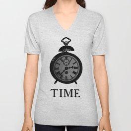 Time Piece Unisex V-Neck