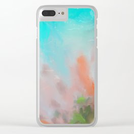 Tropican Clear iPhone Case