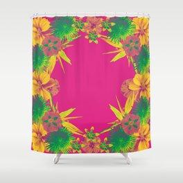 Floral design Shower Curtain