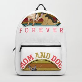 Mom And Dog Shepherd Backpack