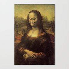 Monnalisa is dead Canvas Print