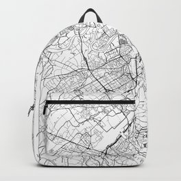 Geneva Map White Backpack