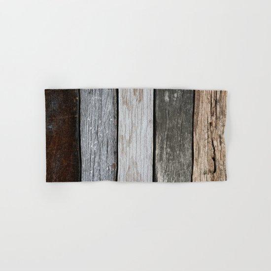 Wood Texture Hand & Bath Towel