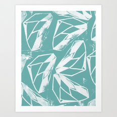 Geometric Pattern 2 Art Print