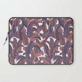 Strelizia leaves pattern Laptop Sleeve