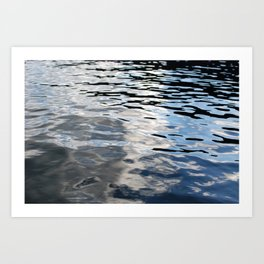 The Sky Is In The Lake Art Print