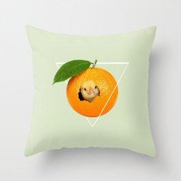 > transgênico Throw Pillow