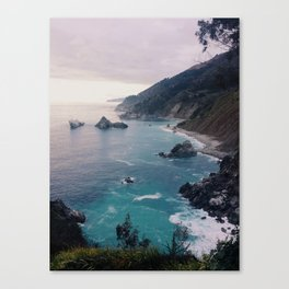 Big Sur Sunset Canvas Print