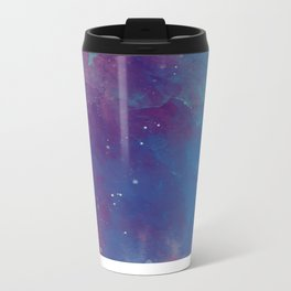 Watercolor night sky Metal Travel Mug