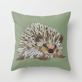 Igel Throw Pillow