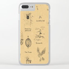 The Wizarding ABC Clear iPhone Case