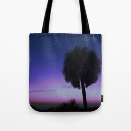 Night by the Sea Tote Bag