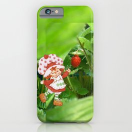 The Littlest Strawberry  iPhone Case
