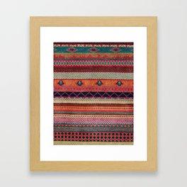 Oriental Traditional Rug Artwork Design C13 Framed Art Print