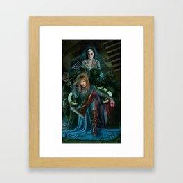 Return To Labyrinth Framed Art Print