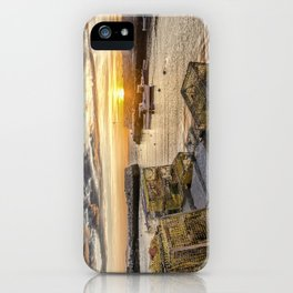 Lanes cove sunset last night 5-20-18 iPhone Case