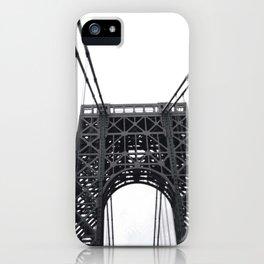 George Washington Bridge Love. iPhone Case
