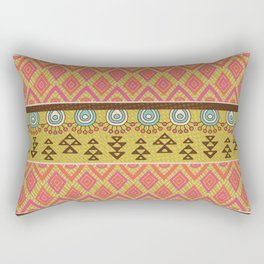 Tribal Design 3 Rectangular Pillow