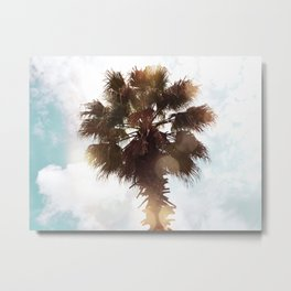 Glowing Palm Metal Print