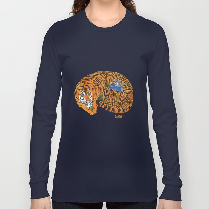 The wild beast is reasting Long Sleeve T-shirt